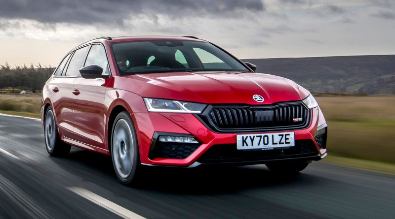Skoda Octavia vRS Estate 2020 : bilan de la situation au Royaume-Uni