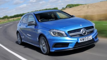 Best cars for under €20,000 - Mercedes A45 AMG