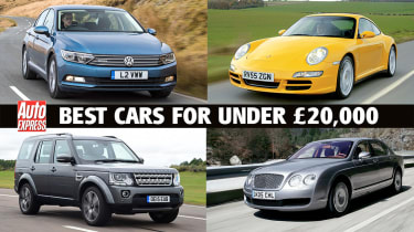 Best cars for under €20,000